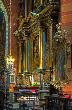Mariacki Church, Krakow, Poland