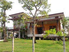 บ้านปูนเปลือยขัดมันบรรยากาศรีสอร์ท ผสานความร่มรื่นของธรรมชาติ เข้ากับการออกแบบโทนดิบ | NaiBann.com