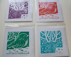 Image result for monoprint christmas cards kids make