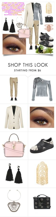 """Creativity of fashion"" by denisee-denisee ❤ liked on Polyvore featuring Calvin Klein Jeans, Yigal AzrouÃ«l, AMI, Dolce&Gabbana, Proenza Schouler, Shashi, Kendra Scott, DANNIJO and Mark Cross"