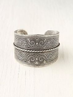 shopstyle.com: Free People Silver Twist Detail Cuff