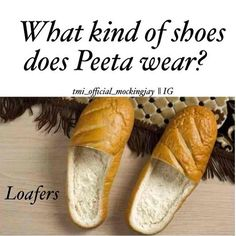 I'm pinning this solely because someone took the time to cut out bread to make them look like shoes!