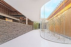 Un Hutong traditionnel dans Pékin rené dans une nouvelle Chambre de thé d'âge - Beijing, Beijing, China