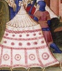 Siège de Babylone, Enluminure de la Bible - Guiard des Moulins, Bible historiale, France, Paris, vers 1400