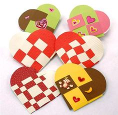 Make a Woven Heart Pocket Valentine