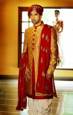 The Effective Pictures We Offer You About Groom Outfit braces A quality picture can tell you many things. You can find the most beautiful pictures t. Blue Sherwani, Sherwani Groom, Achkan, Indian Bridal Wear, Indian Groom, Groom Outfit, Ahmedabad, Wedding Men, Indian Outfits