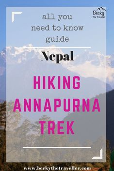 Annapurna Circuit - Nepal - Top Tips for Trekking the Annapurna Circuit in Nepal. All your questions answered for trekking this beautiful walk in Nepal   Is there Wi-Fi on the Annapurna trek?   What's Nepalese weather in the mountains?   Nepalese locals and culture  Top Tips for the Annapurna Trek   Annapurna Circuit in Nepal   What you need to know before trekking Annapurna in Nepal?  