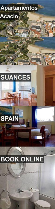 Hotel Apartamentos Acacio in Suances, Spain. For more information, photos, reviews and best prices please follow the link. #Spain #Suances #ApartamentosAcacio #hotel #travel #vacation