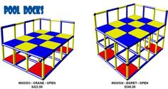 Pool Swim Teaching Platforms - pool swim platforms for all swim schools and aquatics facilities learn to swim classes for toddlers and young children.