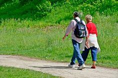 Los beneficios de caminar