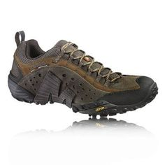 Merrell Shoes Men Intercept Merrell Intercept Walking Shoes nubuck/suede Strobel Construction - The upper is stitched directly to the last to grant higher flexibility and support. Compression Moulded EVA - Soft footframe provides superb cushioned impact resistance, helping your feet go further, for longer. Synthetic Leather Toe Cap - Reinforced front-foot for added protection and stability. …