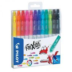 Pochette de 12 feutres effaçables - FriXion Colors