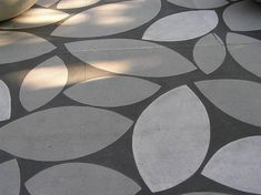 мощение Public Sidewalk  l Orr Design Architects  Sacramento, CA  Solid Color Stains: Light Gray, Charcoal, White  Concrete Maintenance Sealer