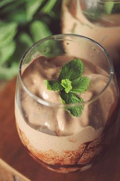 Peppermint Patty Protein Shake