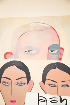 Artist Kelly Beeman Talks Marie Claire Italia, Jonathan Anderson, and More: Abstract Portraits   coveteur.com