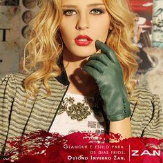 Os dias frios já chegaram! Aproveite para curtir no melhor estilo Zan! #OutonoInvernoZan