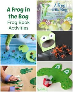 Frog Activities to go along with Karma Wilson's A Frog in the Bog ~ Plus lots of other activities to go along with books by her.