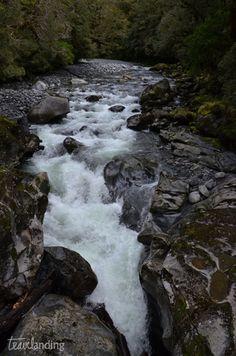 catarata the cham en Nueva Zelanda
