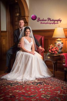 Gorgeous bride and groom at Belhurst Castle! www.GardnerPhotography.net