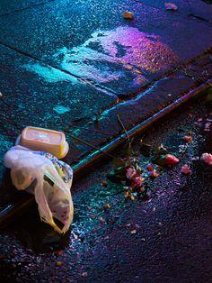 "sleazeburger: "" ELECTROTRASH by Signe Pierce LONDON: Zero Zero, an exhibition curated by + , opens tomorrow at Annka Kultys Gallery Hackney Rd, London from 6 PM - 8 PM. Moira Burton, The Neon Demon, San Junipero, The Wombats, Neon Noir, Saints Row, Neon Aesthetic, Cyberpunk 2077, Ex Machina"