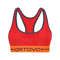 Ortovox 185 RockNWool Sport Top Women - hot coral Sport Top, Rock, Coral, Sports, Women, Fashion, Clothing, Hs Sports, Moda