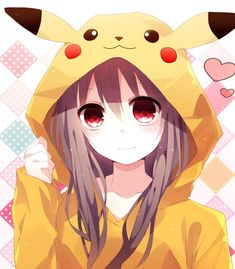 I'm gonna try draw this anime/manga art as I love the pikachu hoodie and need to practice drawing eyes