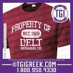 TGI Greek - Delta Tau Delta - Intramural Shirts - Greek T-shirts #tgigreek #deltataudelta #intramural
