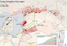 "Syria's Refugee Crisis in ""40 Maps That Explain the Middle East"" ---- Vox"