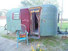 "Trailer trash HIPPIE ""Wanderlust"" boho door curtain door bell fringe gypsy vardo decor bedroom dorm love shack"