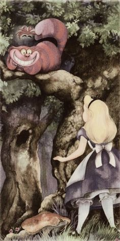 Franc Mateu and Holly Hannon's illustrations for Teddy Slater's 1995 Illustrated Classic adaptation of Walt Disney's Alice in Wonderland.