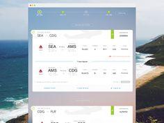 Flight Summary - Trip Timeline TAGS: #ui #trip #timeline