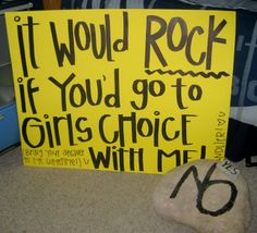cute way to ask a guy to a dance | this was cute a girl asked my son this way