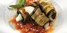 Receita de rolinhos de berinjela com queijo | Receitas Supreme