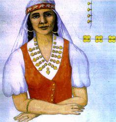 Reconstructions of finds from Algyő by Margit Kováts, Béla Kürti & Árpád Szűcs