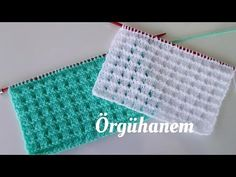 ÇIKMAZ SOKAK ÖRNEĞİ ( English subtitled) - YouTube Baby Knitting Patterns, Hand Knitting, Crochet Crocodile Stitch, Crochet Hooded Scarf, Knitted Baby Clothes, Knitting Videos, How To Purl Knit, Diy And Crafts, Make It Yourself