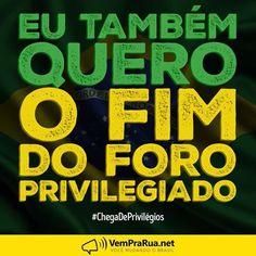 VemPraRua manifestar sua indignação conosco. Nossa bandeira é a democracia, a…