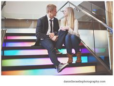 engagement photos, engagement photos in the city, engagement photos in a hotel