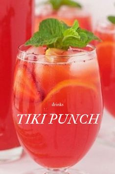 20 Summer Cocktail Recipes for your next party! - 20 Summer Cocktail Recipes for your next party! Tiki Punch Recipe, Rum Punch Recipes, Alcohol Drink Recipes, Alcoholic Punch Recipes, Rum Recipes, Summer Alcoholic Punch, Hawaiian Punch Recipes, Summer Punch Recipes, Fruity Alcohol Drinks