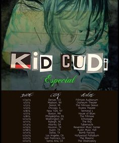 Kid Cudi Announces the 'Especial' Tour