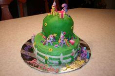 My Little Pony Cake Decorations Birthday