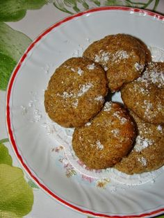 Cristina's world: Biscuiti cu unt de cocos si tarate de grau