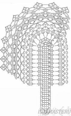 схемы овальных салфеток крючком - Поиск в Google