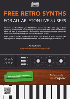 Ableton Live Rethro Synths Campaign by Thomas Weyres