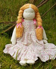 Doing Without - How to Make This Waldorf-Inspired Doll!