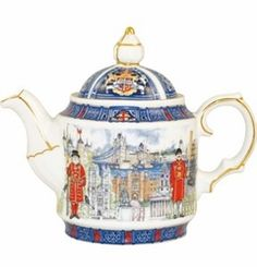 Thameside Teapot by James Sadler James Sadler Teapots