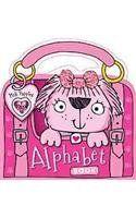 Pink Puppies Alphabet Book by Make Believe Ideas http://www.amazon.com/dp/1782359699/ref=cm_sw_r_pi_dp_c633tb14XET3HMDA