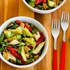 Kalyn's Kitchen®: 20 Favorite Beat-the-Heat Summer Salad Recipes to Make with Leftover Rotisserie Chicken