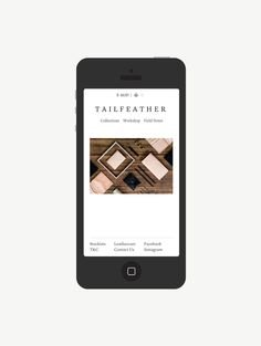 Tailfeather App | Design: UI/UX. Apps. Websites | Hofstede  |