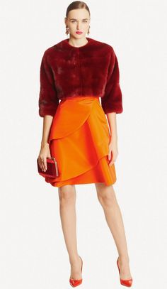 Fashion Show: Oscar de la Renta Pre-Fall 2015 Runway
