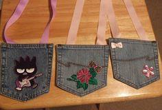 Jean's Crafty Corner: Blue Jean Pocket Purses